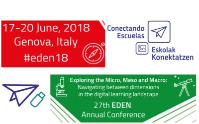 Conectando Escuelas en Eden online
